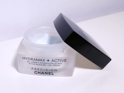 Picture of the Gel cream Hydramax + Active by Chanel with the cap open