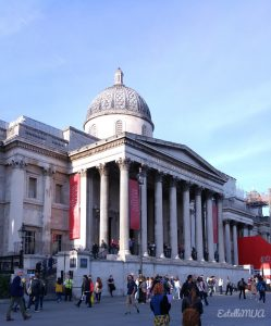 London tourism advice : Trafalgar Square and National Gallery