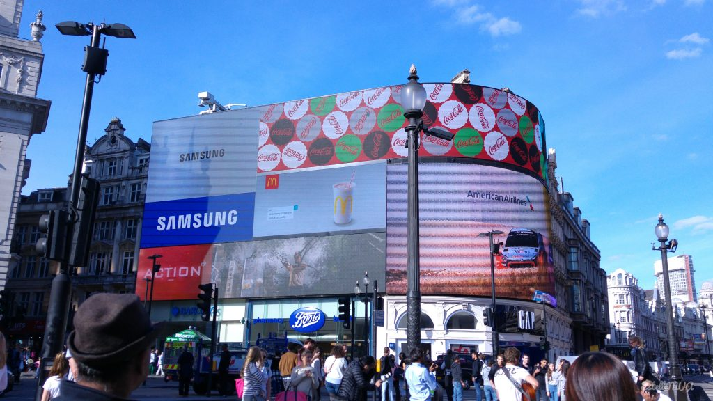 London tourism advice : Piccadilly Circus