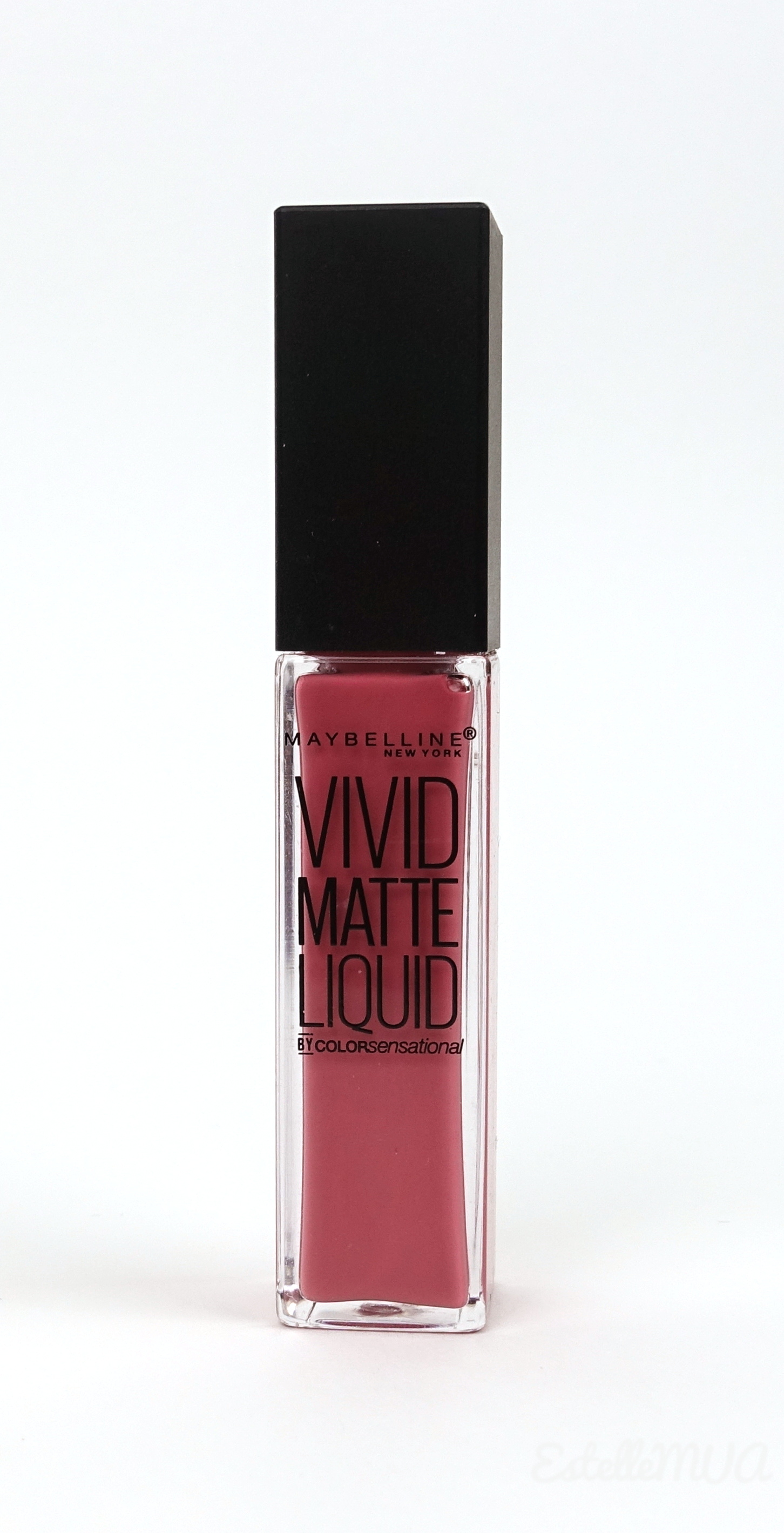 Maybelline Vivid Matte Liquid 05 Nude Flush Tube packaging