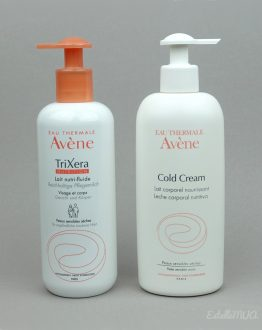 Avene Body Lotion Cold Cream and TriXera
