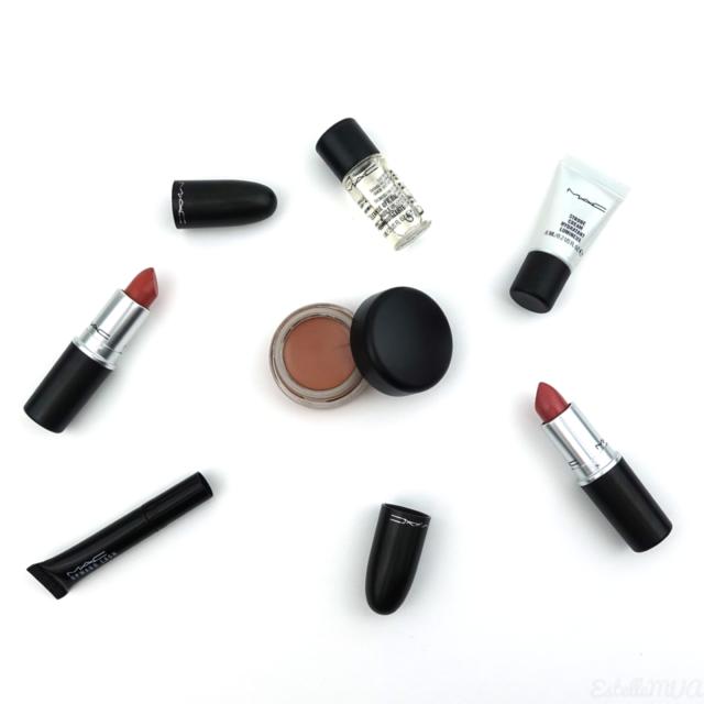 Haul Mac cosmestics : Rouge à lèvres, paintpot, huile démaquillange, mascara, hydratant lumineux
